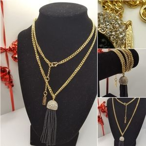 Baublebar Long statement necklace